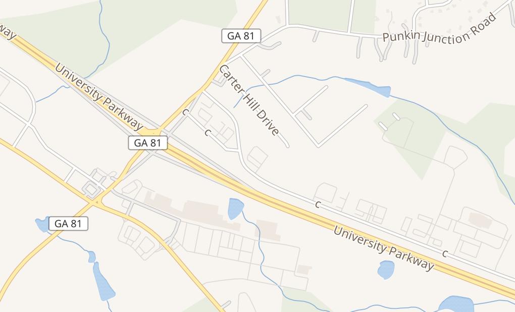map of 306 Exchange Blvd Ste 300Bethlehem, GA 30620