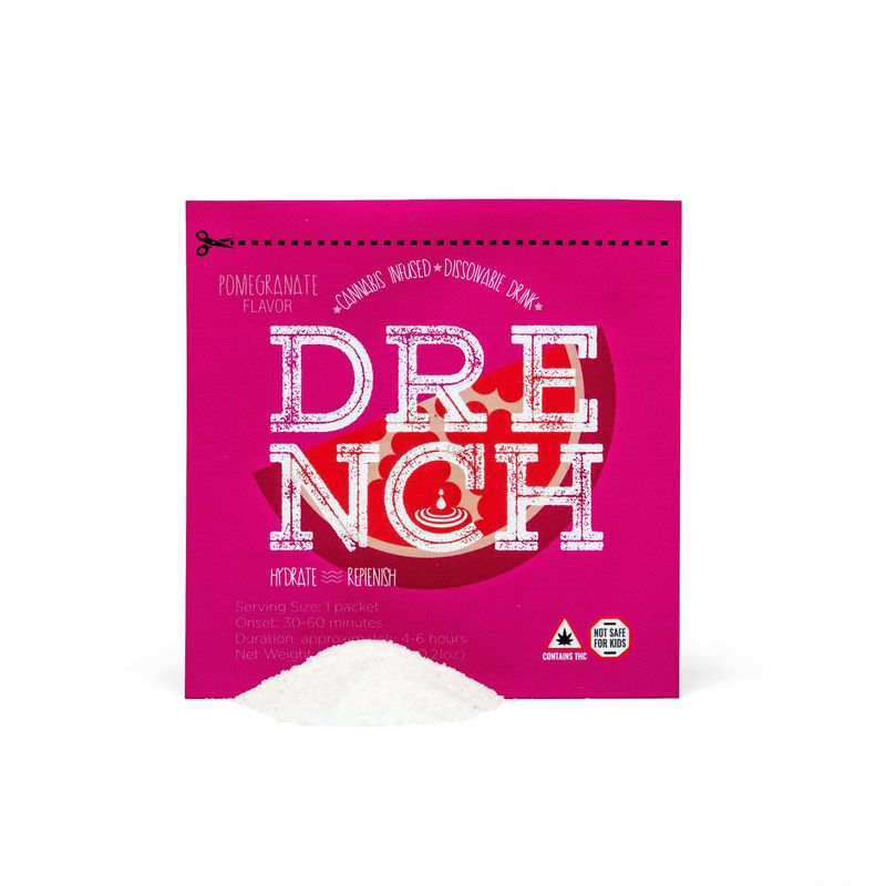 Drench Drink Mix - Pomegranate | 5mg - Temescal Wellness