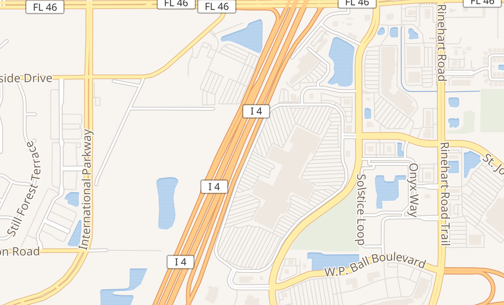 map of 200 Towne Center Cir Ste J10Sanford, FL 32771