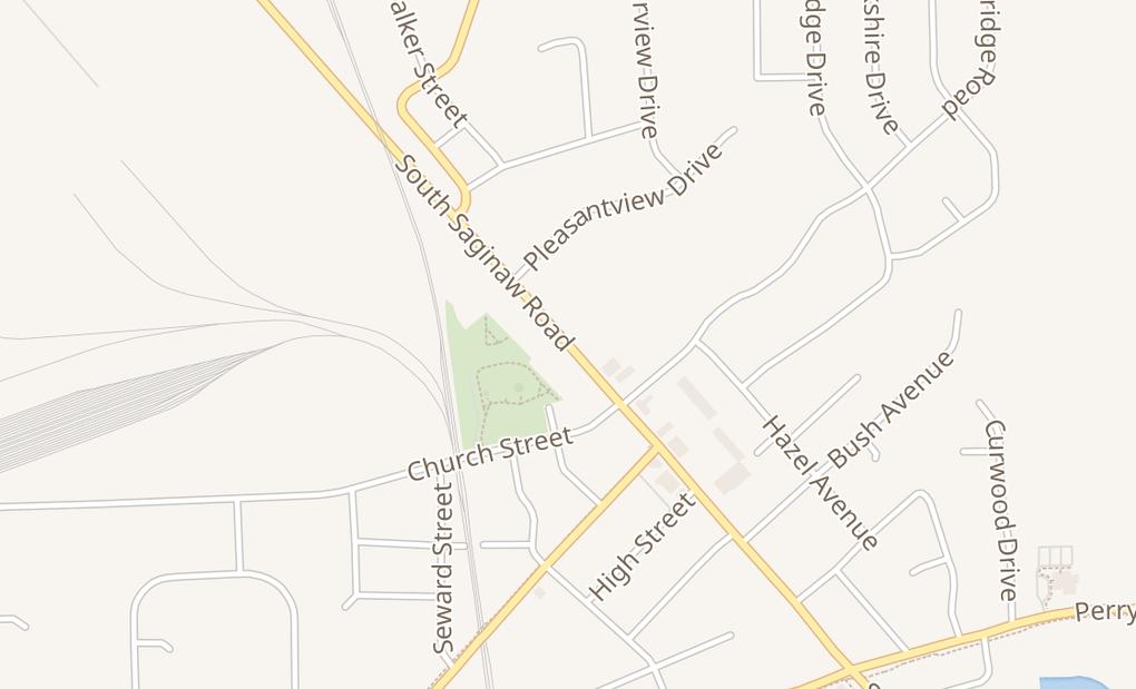map of 11355 S Saginaw St Ste 2BGrand Blanc, MI 48439