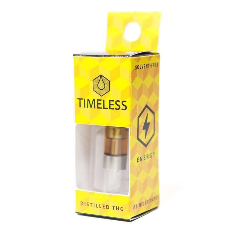 Timeless - Durban Poison Distilled Cartridge -| 0.5g - Timeless