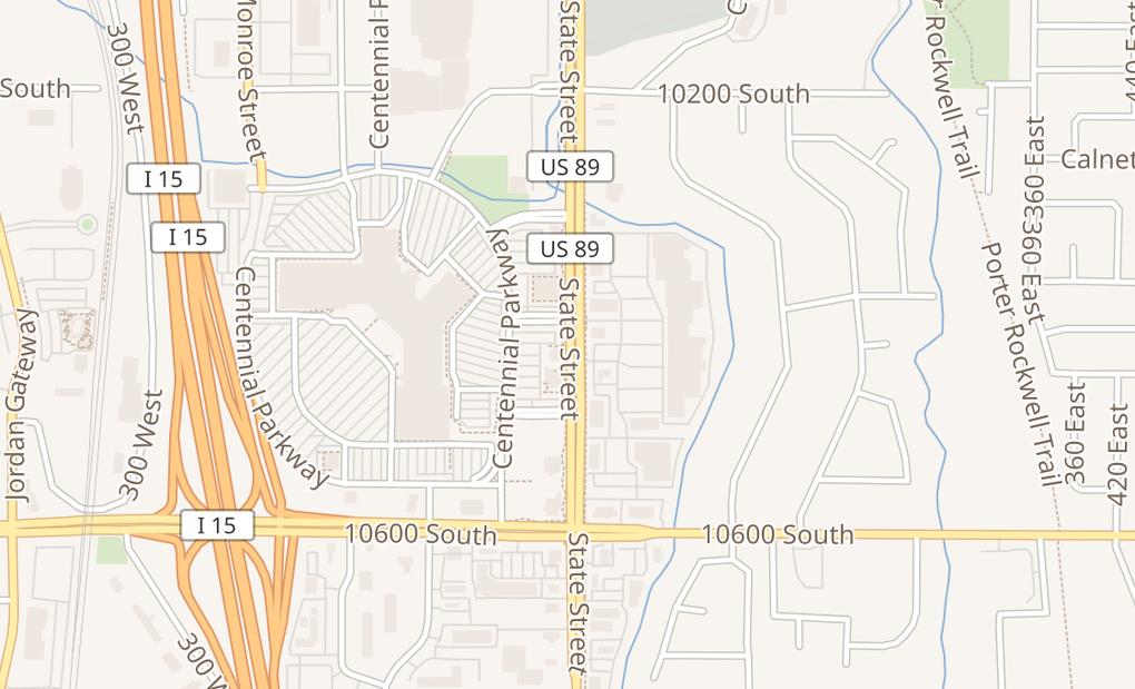 map of 10450 S State St Ste 1244Sandy, UT 84070