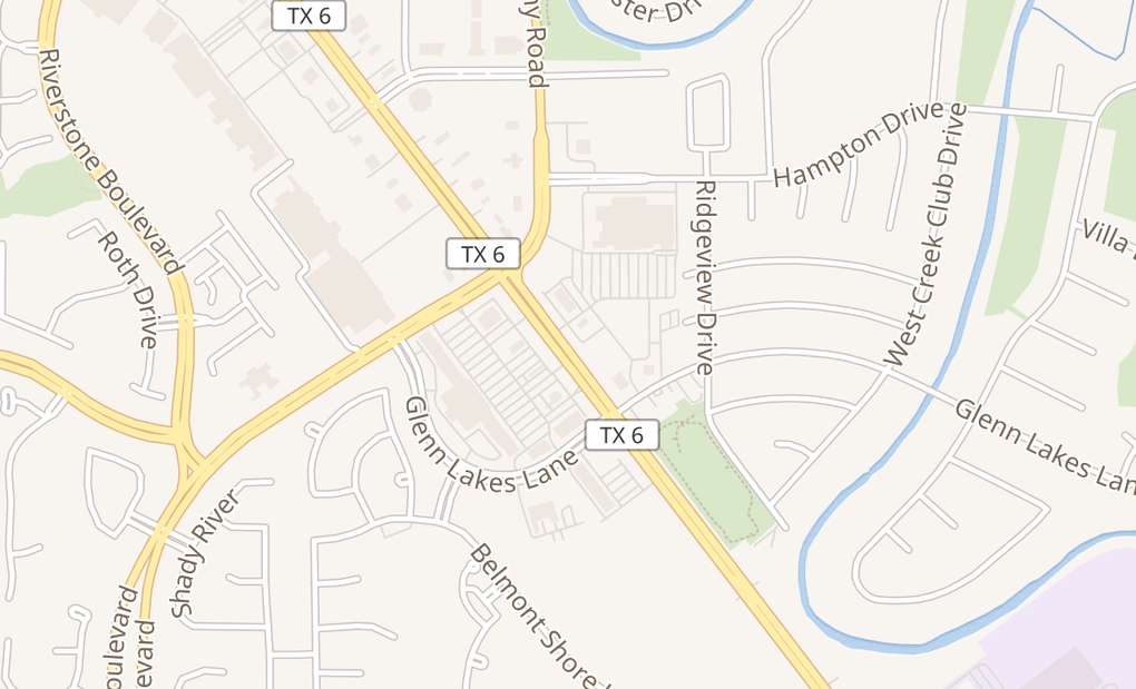 map of 6245 Highway 6 Ste 200Missouri City, TX 77459