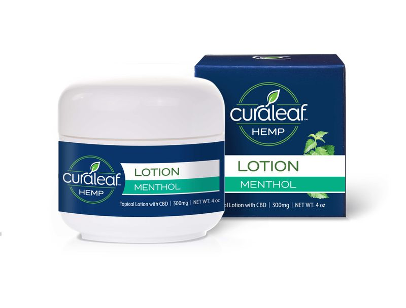 Hemp CBD Topical Cream - Menthol - Curaleaf