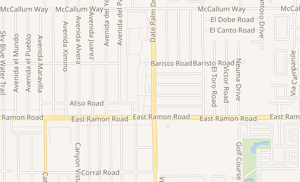map of 31755 Date Palm Dr Ste CCathedral City, CA 92234