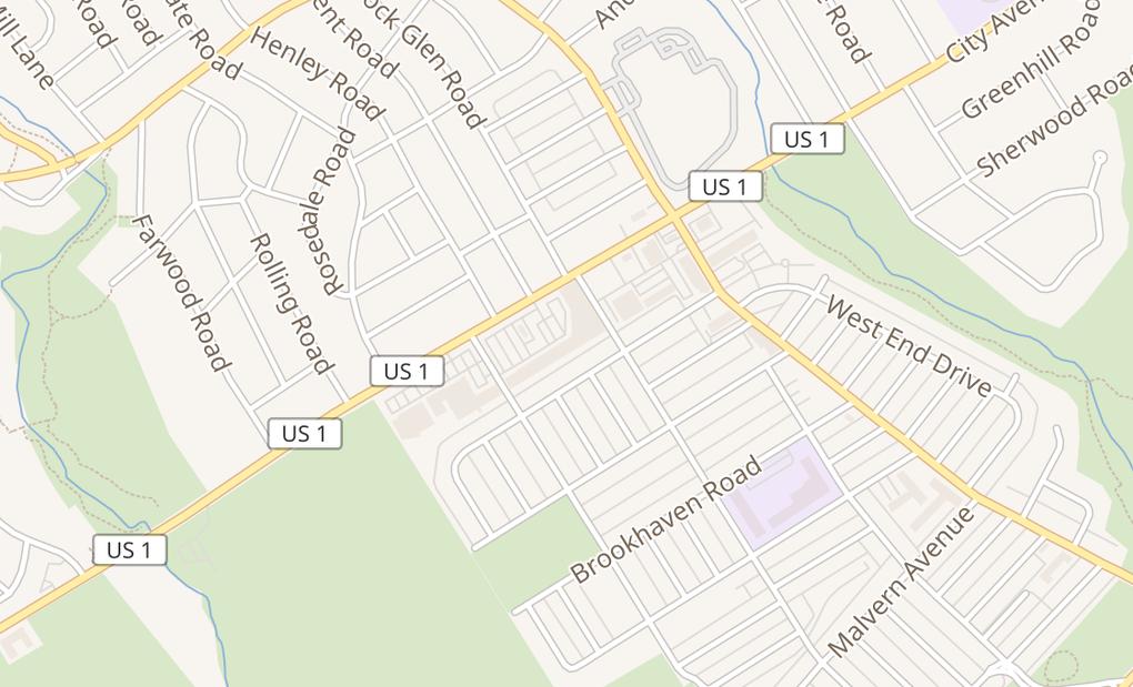 map of 7620 City AvePhiladelphia, PA 19151