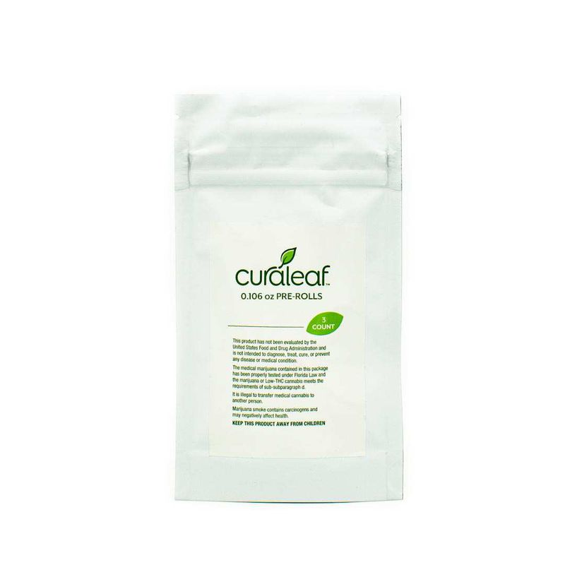 THC Pre Rolls Member Berry (Mbr)-Hybrid-22% THC-0.106oz (660mg THC) - Curaleaf