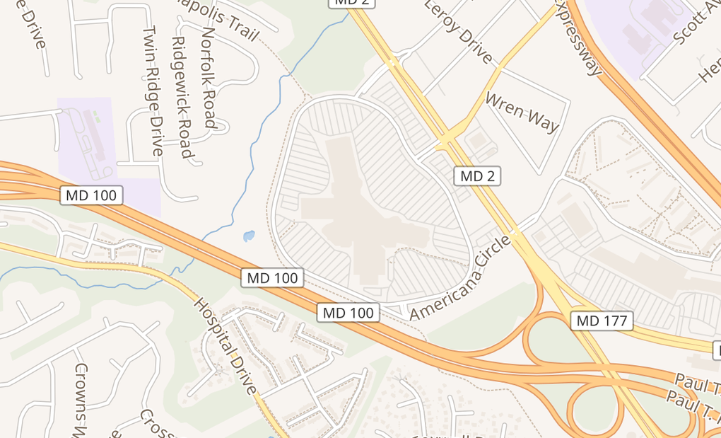 map of 7900 Ritchie Hwy C-112Glen Burnie, MD 21061