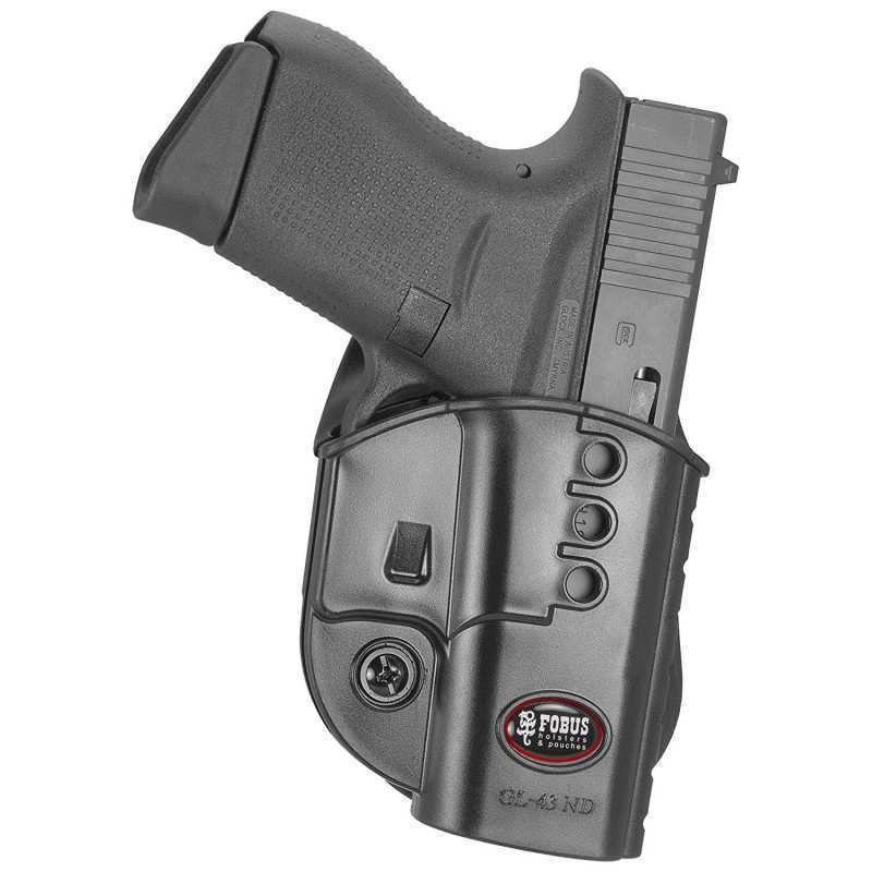 Fobus Evolution Paddle Holster Glock 42 GL42ND