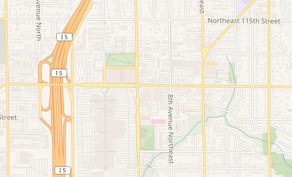 map of 507 Ne Northgate Way Ste ESeattle, WA 98125