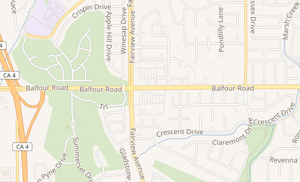 map of 3120 Balfour Rd Ste ABrentwood, CA 94513