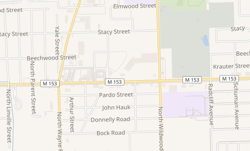 map of 34760 Ford RdWestland, MI 48185