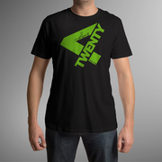 Curaleaf 420-2019 T-Shirt - Black (M) at Curaleaf Titusville