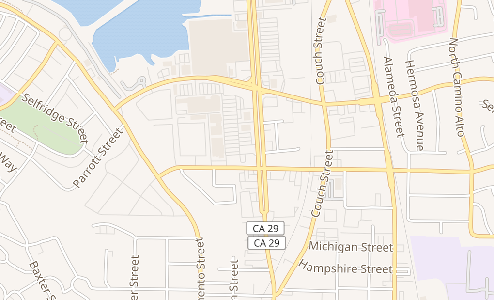 map of 3325 Sonoma Blvd Ste 10Vallejo, CA 94590