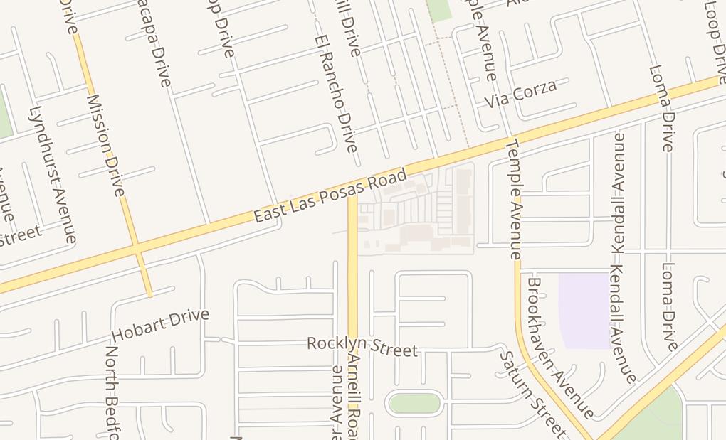 map of 1656 Arneill Rd Spc BCamarillo, CA 93010