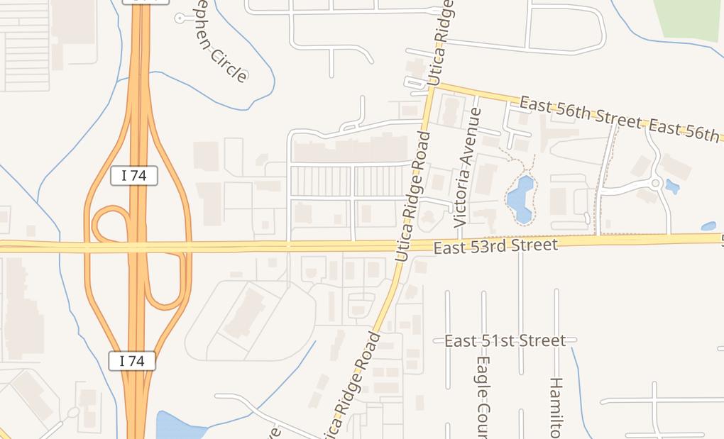 map of 4030 E 53Rd StDavenport, IA 52807