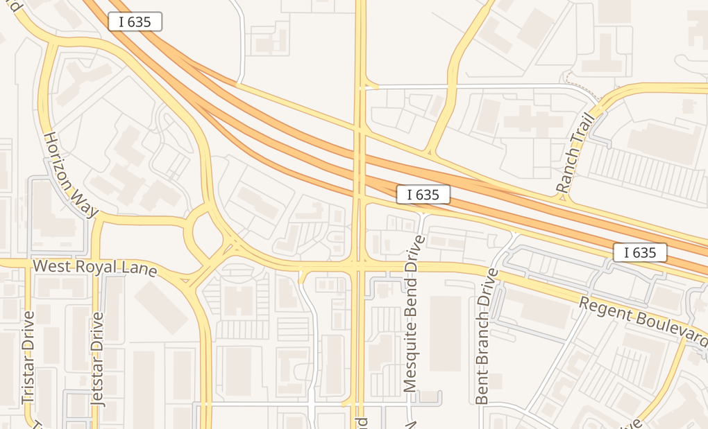 map of 8445 N Belt Line Rd Ste 120Irving, TX 75063