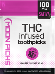Toothpicks | Durban Poison | Juicy Fruit | 10 | PK | 100mg at Curaleaf AZ Central