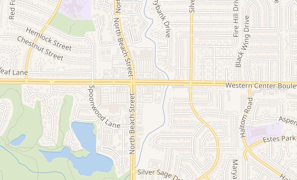 map of 4520 Western Center BlvdHaltom City, TX 76137