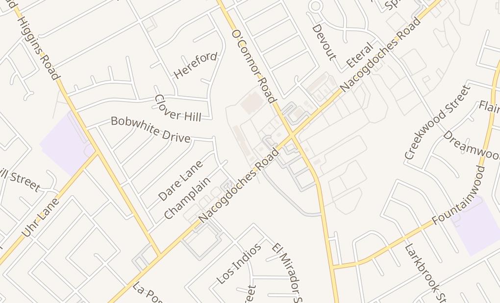 map of 13909 Nacogdoches Rd #101San Antonio, TX 78217