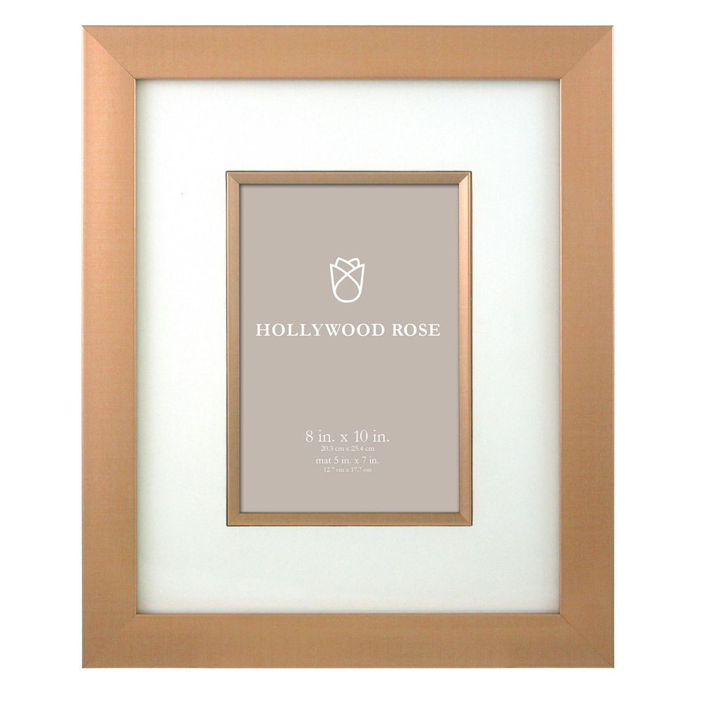 Sears Matilda 8x10 Matted To 5x7 Picture Frame - Rose Gold ...