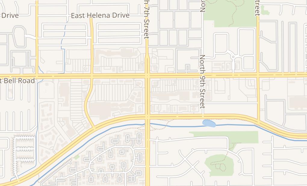 map of 707 E Bell Rd Ste 1Phoenix, AZ 85022