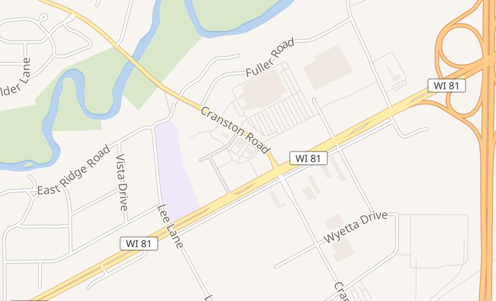 map of 2690 Cranston RdBeloit, WI 53511