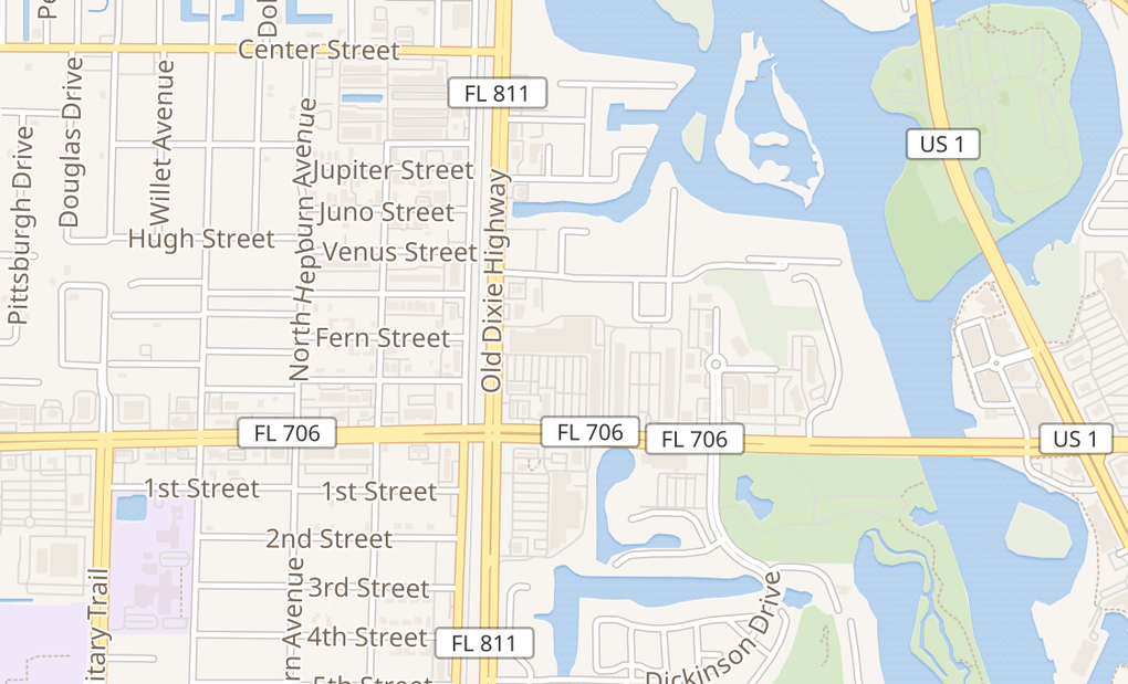map of 75 E Indiantown Rd Ste 605Jupiter, FL 33477
