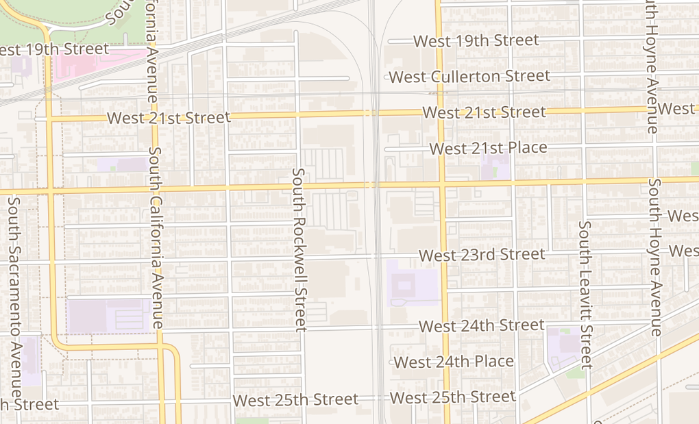 map of 2509 W Cermack RdChicago, IL 60608