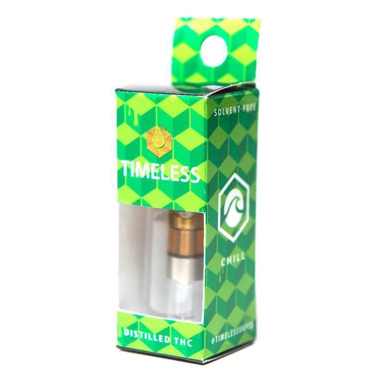 Timeless - Cartridge .5g - White Urkle - Timeless