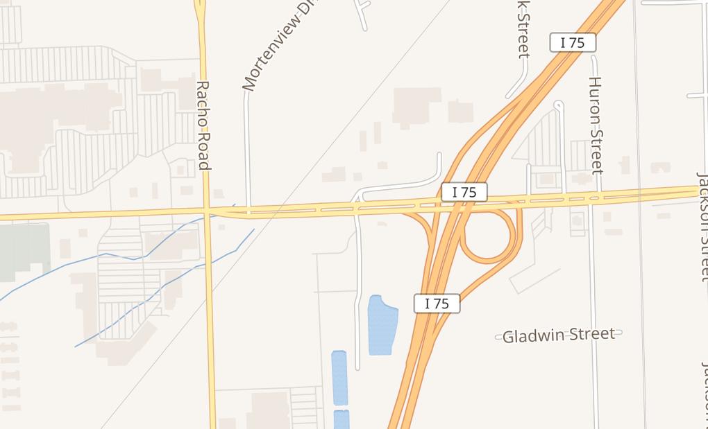 map of 21215 Eureka RdTaylor, MI 48180