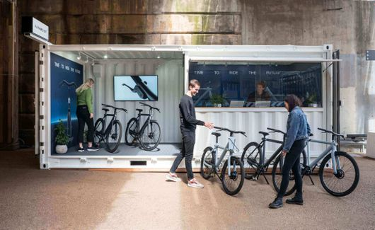 VanMoof Pop-up Store London Battersea - Battersea, UK