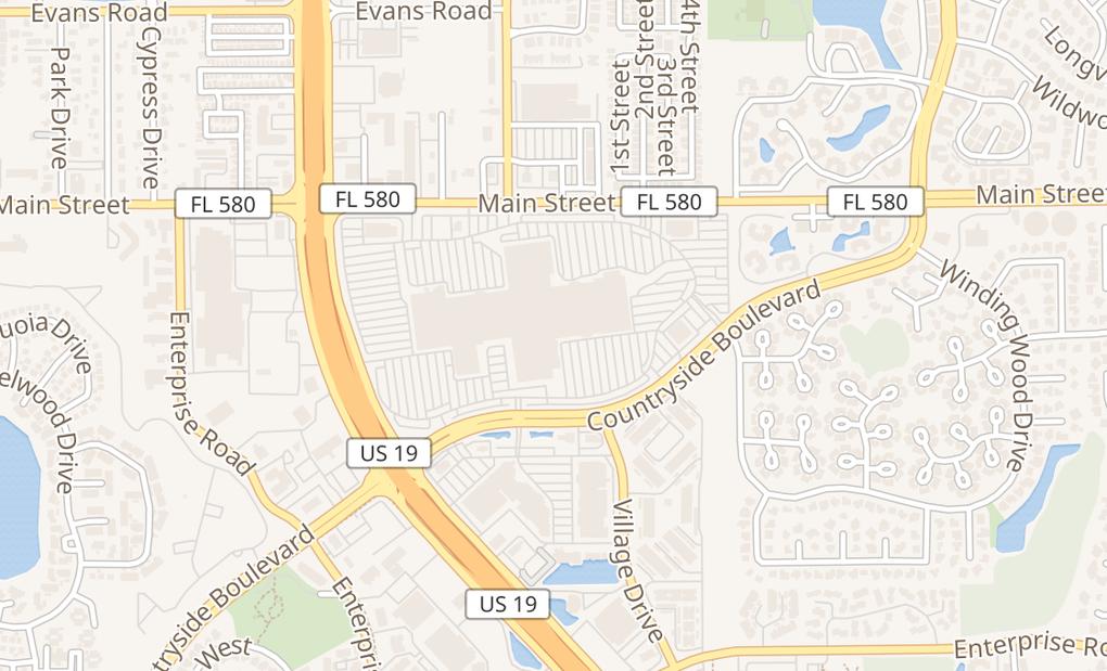 map of 27001 US Highway 19 N Ste 2050Clearwater, FL 33761
