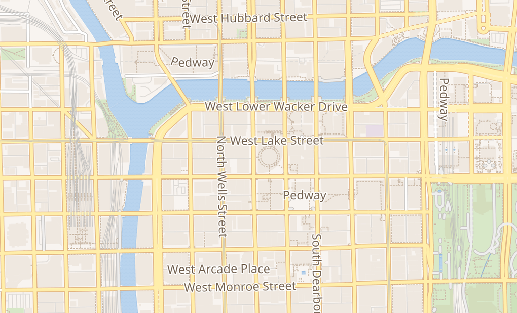 map of 100 W Randolph Ste 106 107Chicago, IL 60601