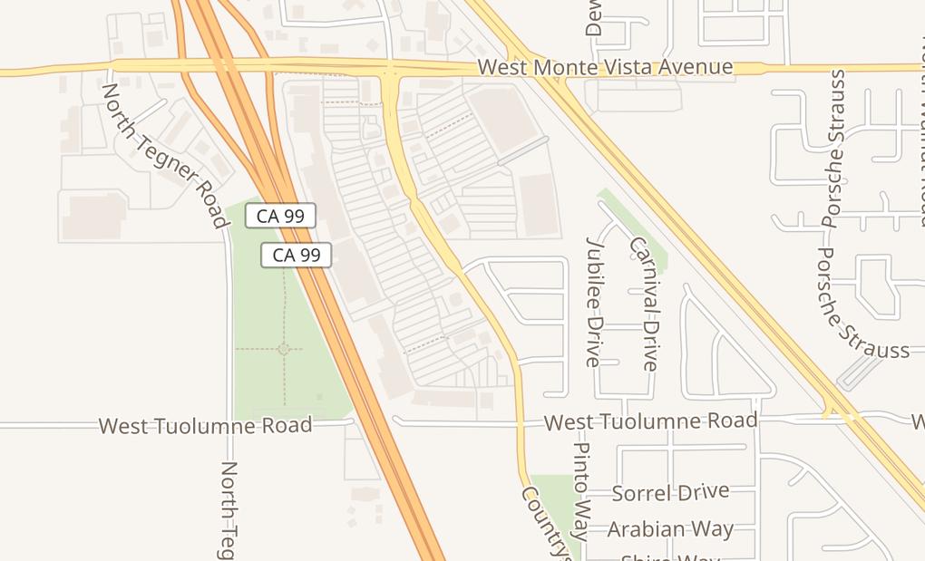 map of 2741 Countryside DrTurlock, CA 95380
