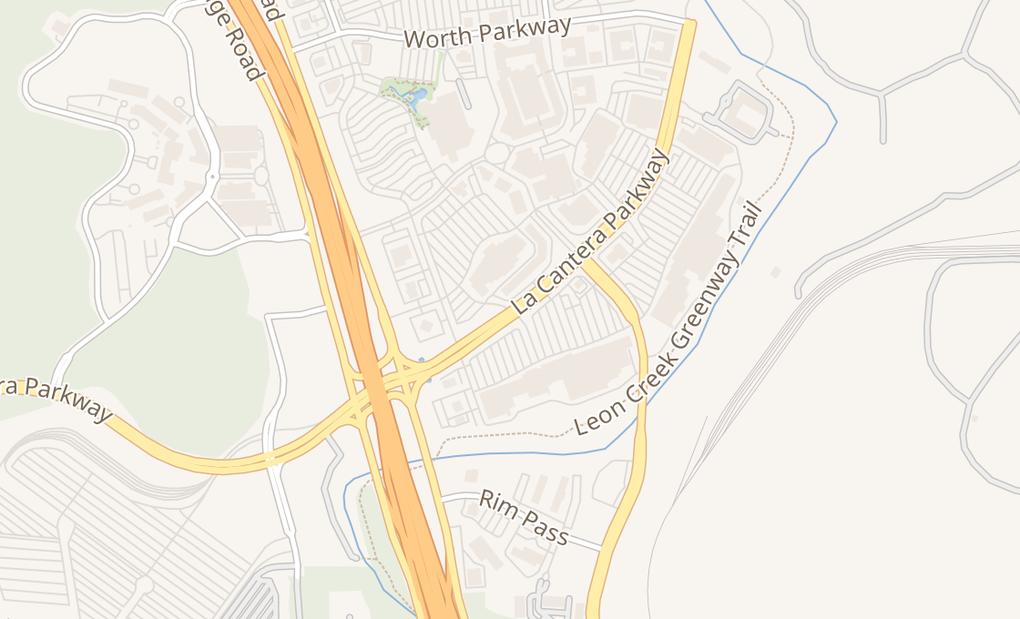 map of 17503 La Cantera Pkwy Ste 112San Antonio, TX 78257