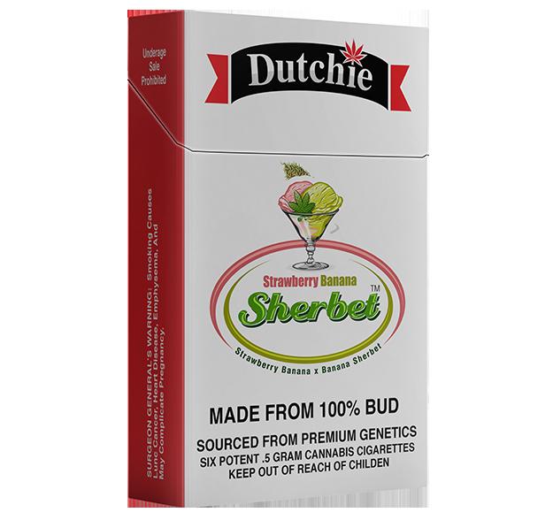 Strawberry Banana Sherbet | 6 Pack | 3g - DUTCHIE