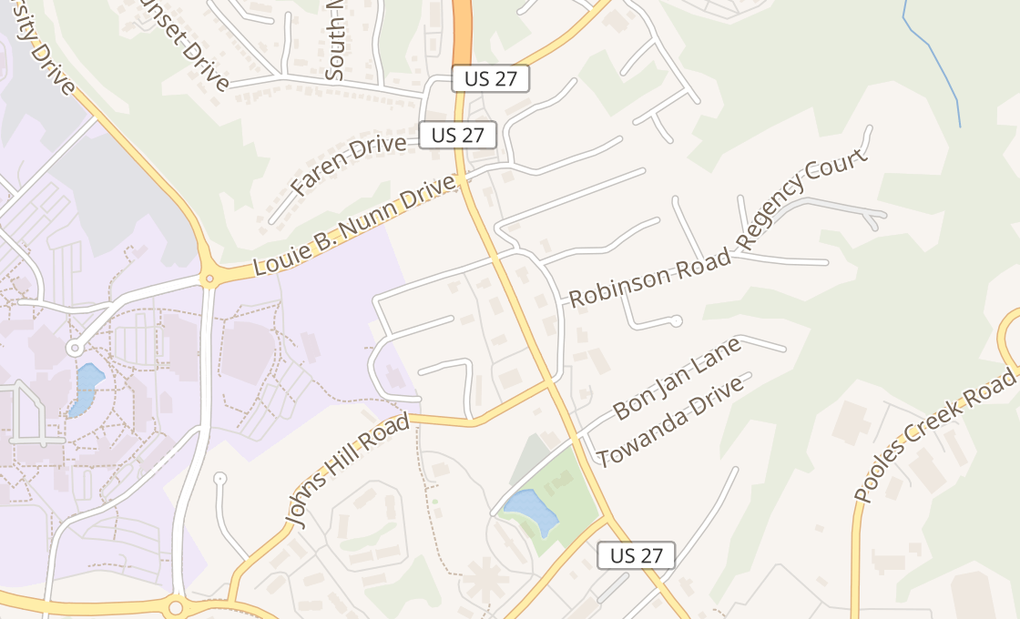 map of 2770 Alexandria WayHighland Heights, KY 41076