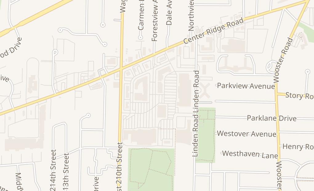 map of 3038 Westgate Unit 20Fairview Park, OH 44126