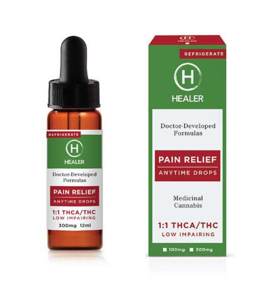 Healer-Pain Relief 100mg - None