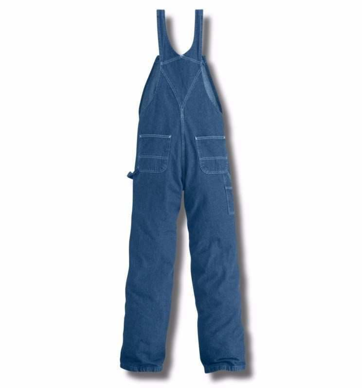 Carhartt Men 39 S Washed Denim Unlined Bib Overall R07dst