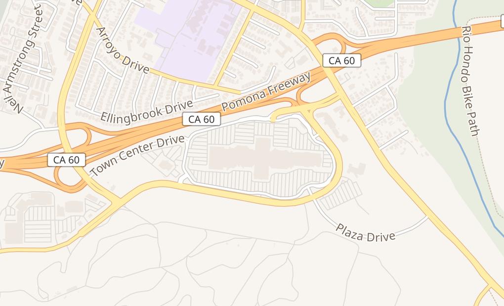 map of 2134 Montebello Town Ctr Spc 14Montebello, CA 90640