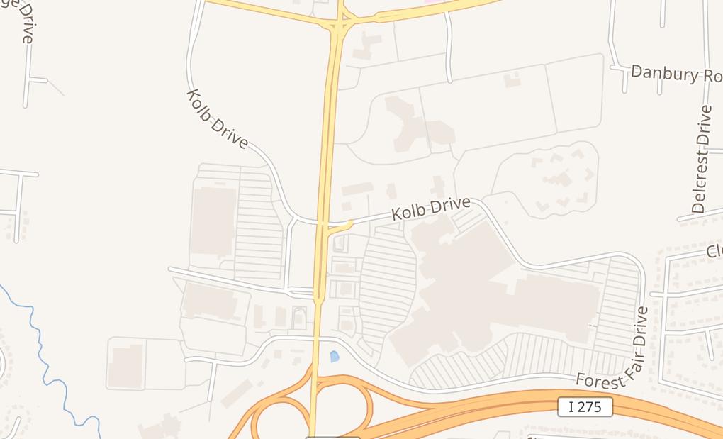 map of 500 Kolb DrFairfield, OH 45014