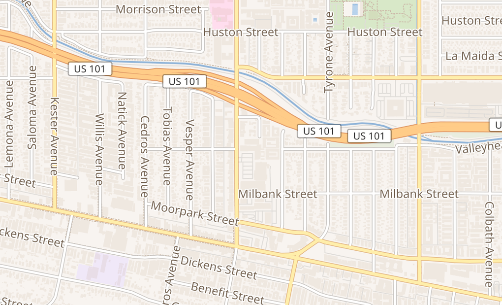 map of 4550 Van Nuys BlvdSherman Oaks, CA 91403