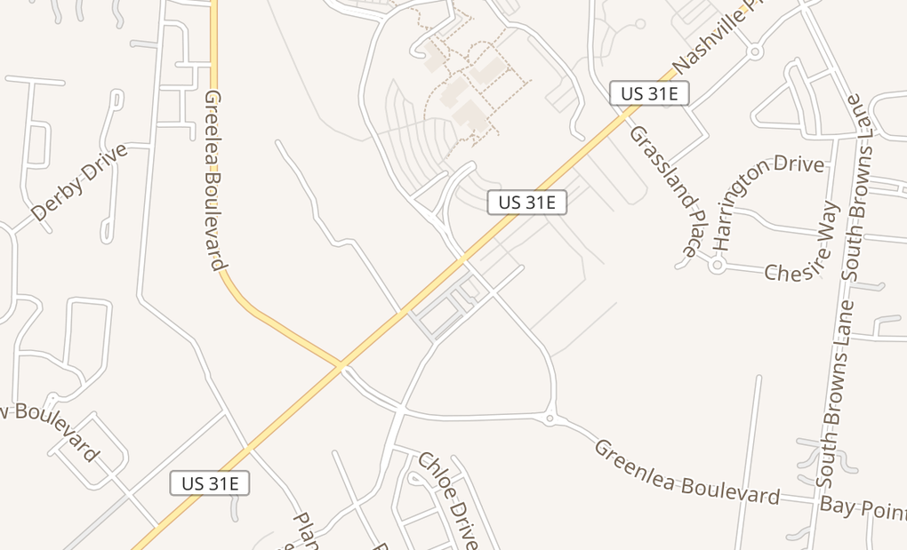 map of 1545 Nashville Pike Ste 103Gallatin, TN 37066