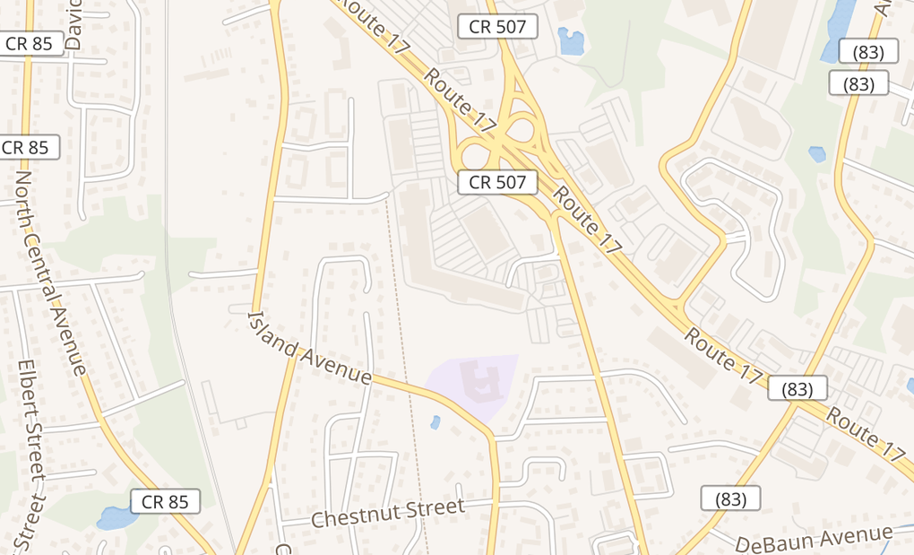 map of 23 Interstate Shop CtrRamsey, NJ 07446