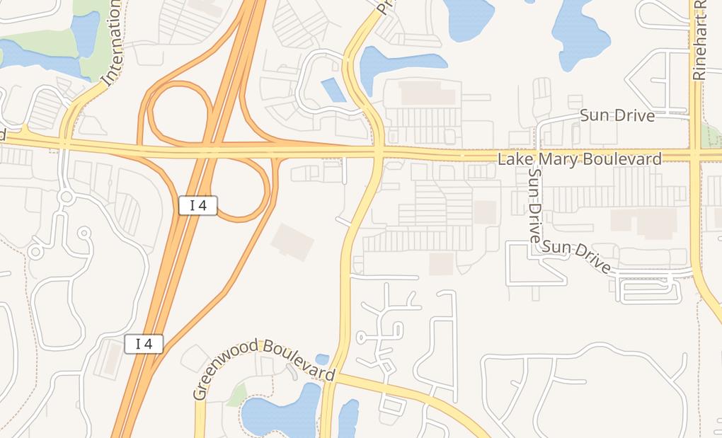 map of 3745 Lake Emma Rd Unit E1-2Lake Mary, FL 32746