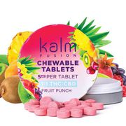 Kalm Fruit Punch Tablets 1:1 250mg at Curaleaf Reisterstown