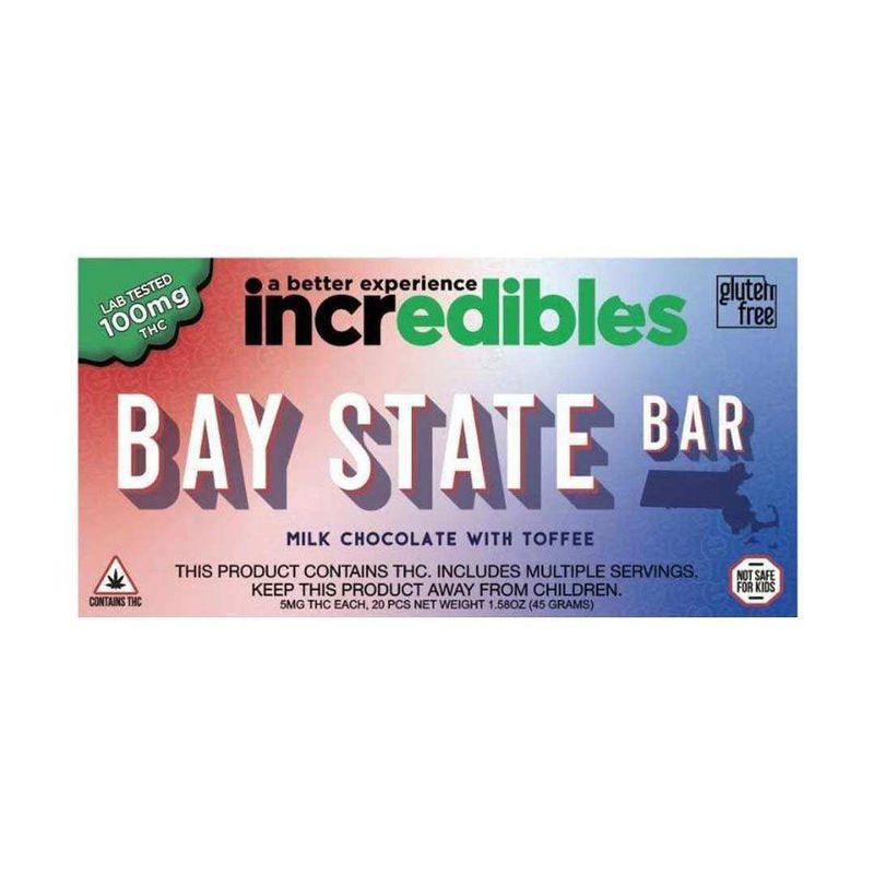 Incredibles Bay State Bar | 100mg - GTI