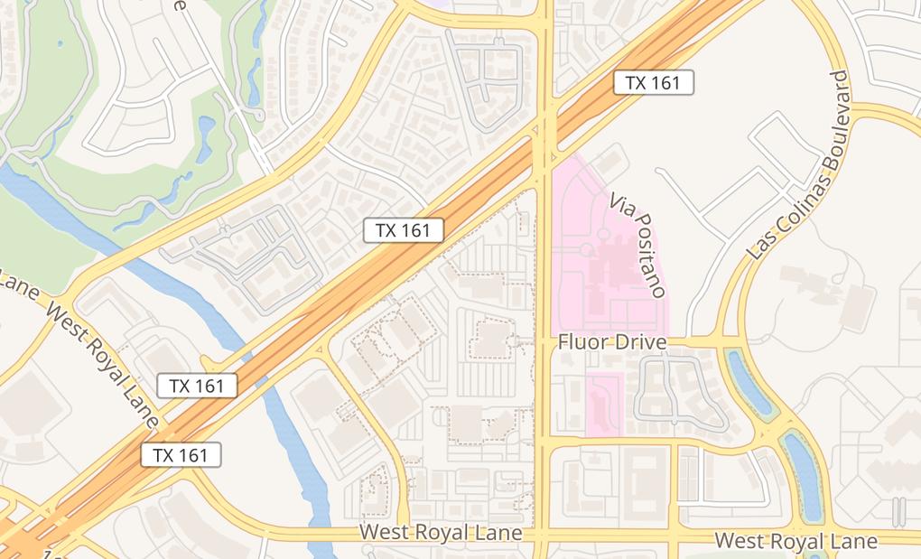 map of 6751 N Macarthur Blvd Ste 150Irving, TX 75039